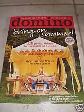 BRAND NEW domino magazine - May 2006 (no barcodes)