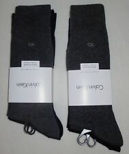 NWT CALVIN KLEIN dress mens socks 8 pairs GREY/NAVY