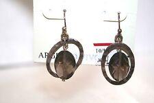 Sterling Silver Earring Dangle NEW Macy's Multi Facet CUT Bead $76 SALE GIFT