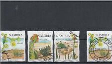 Namibia 2008 Cto Euphorbias Sg # 1096-8 3v virosa dregeana damarana Flores Usada