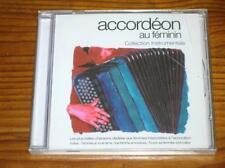 CD / ACCORDEON AU FEMININ  / NEUF CELLO++++++++++++++++
