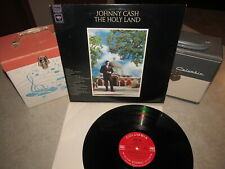 JOHNNY CASH Vinyl Lp THE HOLY LAND Original 1969 Columbia KCS 9726 Beauty!