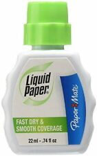 Paper Mate Liquid Paper Fast Dry Correction Fluid, 22 mL, 12 Count FREE2DAYSHIP