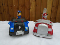 Paw Patrol On A Roll Chase & On A Roll Marshall Vehicles With Figures 🐾