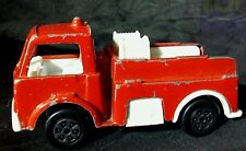 """Vintage Tootsie Toy FIRE TRUCK Made in USA vehicle Toy Fireman Pumper Rescue 3"""""""