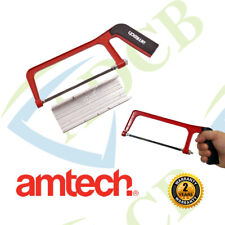 "Amtech M0950 6"" Junior Mini Hacksaw Saw Cutting Set & Mitre Woodwork Box Block"