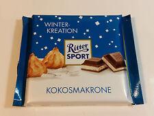 Ritter Sport - WINTER KREATION - KOKOSMAKRONE - 3.5oz - 100g  MADE IN GERMANY
