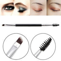 1Pc Large Synthetic Duo Brow Brush Blending Eyebrow Makeup Brushes Tools New