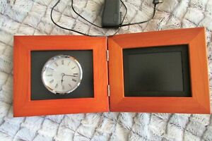 Coby DP-5588 5.6-Inch Clock and Digital Photo Frame with Video, Music & Clock