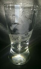 RARE COLLECTABLE BLUE TONGUE LAGER 330ML BEER GLASS BRAND NEW NEVER USED