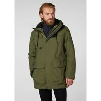 Helly Hansen Galway Men's Parka Jacket 53118/491 Ivy Green NEW