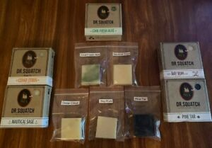 Dr Squatch Soap Sample Pack of 5 Best Seller Scents!