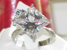 Princess Stainless Steel Unbranded Solitaire Costume Rings