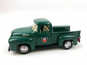 Road Champs 1956 Ford F100 Pickup Truck Oliver Decal 1:43 Hunter Green 1994