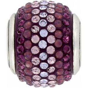 NEW Brighton CUPID'S KISS AMethyst Purple Crystals Charm Bead   MSRP $29