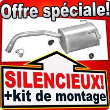 Échappement FIAT 500 500C PANDA II FORD KA 1.1 1.2 2003-2012 échappement TTJ