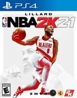 NBA 2k21 - PS4 Playstation 4 Brand New