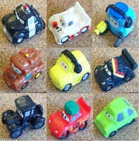 Misc - Cars Disney Pixar Squinkies Rubber Micro Character Toys - Various