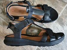 Clarks Black Sandals Unstructured Size 6 UK