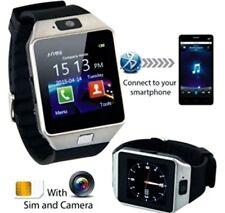 Bluetooth Smart Watch Armband Uhr Android Telefone Kamera SIM-Karte