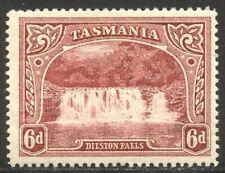 Tasmania #93 Mint - 1899 6p Claret ($45)
