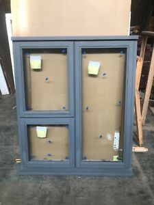 Brand New Unused Supplied Double  Glazed Timber Window 1195mmx1385mm grey primed