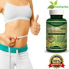 3000mg Daily GARCINIA CAMBOGIA 95%HCA Capsules Fat Burn Slim Diet Weight Loss
