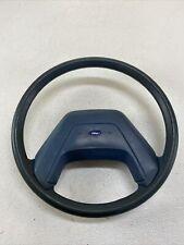 83-90 Ford Ranger Bronco II OEM Steering Wheel With Horn OEM Blue
