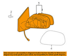 TOYOTA OEM 09-13 Corolla Door Side Rear View-Mirror Assy Right 8790802B01