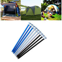 GI- High Strength Aluminium Alloy Outdoor Nail Camping Tent Peg Stake Portable H