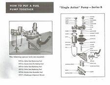 1929 1930 1931 1932 1933 Chevrolet Fuel Pump Gasket Set w/ Diaphragm & Screen
