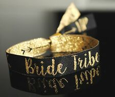 Bride Tribe Wristbands ~ Bachelorette Party ~ Team Bride ~ Hen Party Accessories