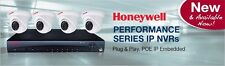 Honeywell Video HEN04121EB 4Ch Embedded Nvr 2Tb/4 Ip Eye Ball Cameras