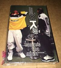 Kris Kross Tonite's Tha Night BRAND NEW SEALED TAPE 1995 Jermaine Dupri