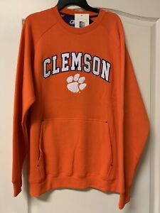 NEW W TAGS - Clemson Tigers NCAA Sweatshirt with Front Pocket - XL - MSRP $45