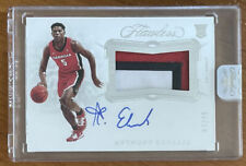 2020-21 Panini Flawless ANTHONY EDWARDS Rookie RC On Card Patch Auto 3/20!