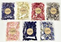 Biodegradable Delphinium Real Petal WEDDING GUEST CONFETTI Pack Bag Pink Ivory