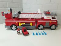 Paw Patrol marshall Ultimate Fire Engine With Sounds and water bullets