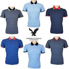 Polo de Hombre Top Camisas con Puntas American Eagle Outfitters Algodón