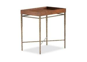 Maitland-Smith Cleve Chairside Tray Table