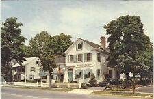 1971 postcard- The William Pitt Inn, Colonial Village, Chatham, New Jersey