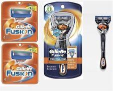 *9 Gillette FUSION Razor Blades Cartridges Refills Proglide FLEX BALL Shaver 8 4