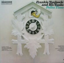 FRANK YANKOVIC AND HIS YANKS - POLKA TIME - LP - MONO