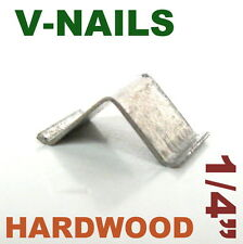"420 pc V-Nails V-Nail 1/4"" for Hard Wood Type: UNI Picture Framing sct-888"
