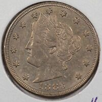 1883 No CENTS Liberty Nickel Mint State #145669