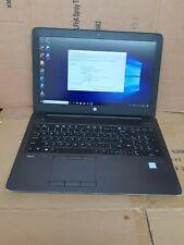 Hp ZBook 15 G3 core i7 6820HQ 32GB RAM 512GB SSD WIN10 FHD Quadro M2000M Nvidia