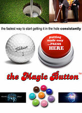 MAGIC BUTTON Putting Golf Training Aid (4 in pack)