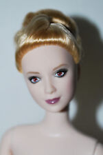 Nude Twilight Barbie Jane Doll Eclipse Vampire Pale Skin Red Eyes OOAK