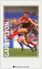 1996 Optus Vision AFL Card #28 Garry Lyon (Melbourne)