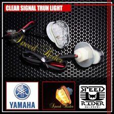 CLEAR YAMAHA R1 R6 2002 2003 2004 2005 2006 2007 2008 YZF LED TURN SIGNAL LIGHTS